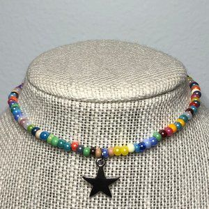Beaded Star Necklace